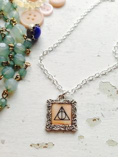 Harry Potter Deathly Hallows necklace jewelry