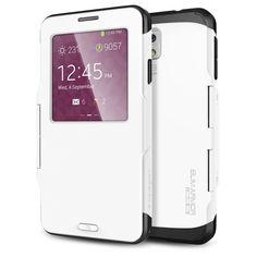[Auto Sleep/Awake] Spigen Samsung Galaxy Note 3 Case Protective [Slim Armor View] [Smooth White] Automatic Sleep / Awake Dual Layer Advanced Shock Absoption Protective Case w/ View Window for Galaxy Note 3 - Smooth White (SGP10683) Spigen,http://www.amazon.com/dp/B00GWU7LTK/ref=cm_sw_r_pi_dp_ctLhtb0WSDEBAQ13