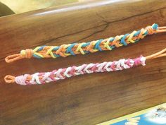 Gift Guide, Ages 6 to 9: Colorful jewelry is always a hit and these braided numbers. #holiday #gifts