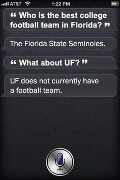 Well, Siri you are just SO right