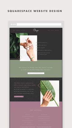 Website Design Layout, Wordpress Website Design, Website Design Inspiration, Web Design, Aesthetic Websites, Email Newsletter Design, Aesthetic Design, Presentation Design, Website Template