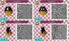Halloween Dress by Shirokakao Animal Crossing Qr Codes Clothes, Animal Crossing Game, Pokemon Trainer Outfits, Halloween Town, Halloween Dress, Cute Vintage Outfits, Bridal Hair Chain, Gaming Center, Ac New Leaf