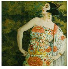 El desplante .Eduardo Chicharro y Agüera. Pintor español.(Madrid, 18 de junio de 1873 - id., 1949)