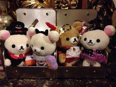 #Rilakkuma #Halloween 2012-2014 collection ψ(`∇´)ψ Happy Halloween!