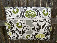 Secret Garden Messenger/Diaper Bag w/S by overthegardenwall, $75.00