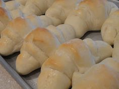 Recipes from Stephanie: Homemade Crescent Rolls