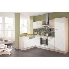 Küchenblock in L-Form: wunschlos glücklich mit XORA