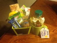 Created this breakfast bundle for each of my administrative staff members for Administrative Professionals Day.