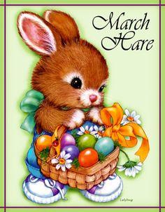 """March Hare"" © Ladybug Creations."