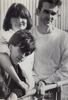 Morrissey and Johnny Marr with Sandie Shaw. Sandie Shaw, How Soon Is Now, All Tomorrow's Parties, The Smiths Morrissey, The Queen Is Dead, Johnny Marr, Siouxsie & The Banshees, Charming Man, Britpop