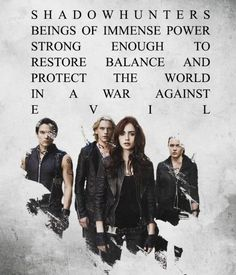 Mortal Instruments! I believe this is the perfect thing to pin first in my mortal instruments board!