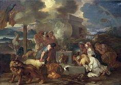 File:Bourdon, Sébastien - Le Sacrifice de Noe a la sortie de l'Arche - c. 1640.jpg