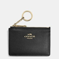 Mini Skinny in Textured Embossed Leather