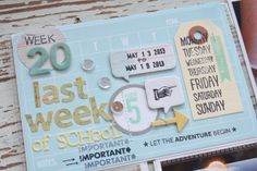 Mish Mash: Project Life 2013....Week 20 with veggie seed flip pocket