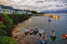 Roundstone, Ireland.  25 Of The Most Beautiful Villages In Europe
