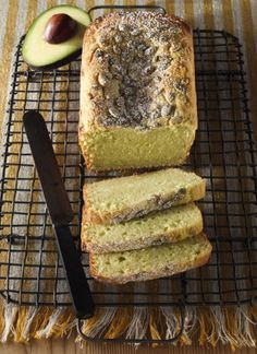 Avocado Ricotta Pound Cake... hhhmm interesting, might need to try!
