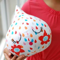 Make this super cute raindrop softie with a free downloadable sewing pattern.