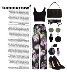 """""""Untitled #715"""" by krahmmm ❤ liked on Polyvore featuring Dolce&Gabbana, Calvin Klein Collection, DKNY, The Row, Rado, Fallon, Humble Chic, Deborah Lippmann and Miu Miu"""