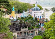 Portmeirion, Wales   18 Places You Won't Actually Believe Are In Britain