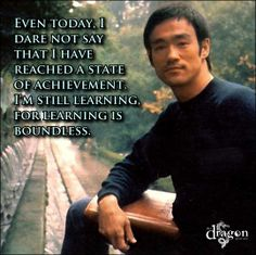 Bruce Lee - Wing Chun www.ocwingchun.com The journey never ends. It just follows paths to new places
