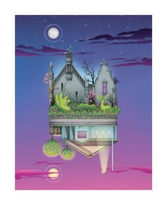 "BROTHERTEDD.COM - Zita Walker ""Home"" Print"