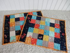 Scrappy Patchwork Place Mat Tutorial | A Quilting Life | Bloglovin'
