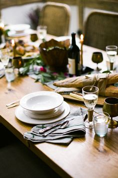 simple spring dinner ideas photo: nancy neil