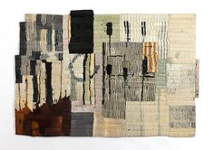 Matthew Harris Echo Each approximately 96 x 67 cm Dyed, cut and hand stitched…