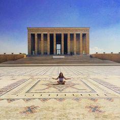 Anıtkabir @Ankara  Bu @Ankara karesi için takipçimiz...