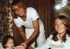 John Denver with Anna Kate and Annie