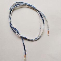 #wovenropenecklace #ouchflower2015 #shibori