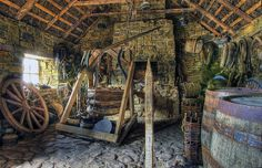 Bog Village, Ireland; blacksmith shop