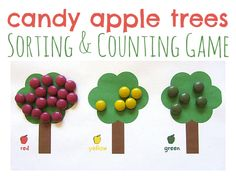 A fun and simple idea for some candy apple math!