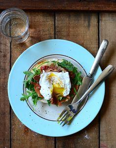 simple breakfast sandwhich
