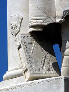 Detail of the monument to the Count of Cavour, piazza Cavour