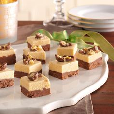 Peanut Butter Chocolate Fudge Recipe -I get the whole family involved with this fudge. I bake, my daughter watches the clock, my husband stirs and my son is a taste tester! —Jennifer Gilbert, Brighton, Michigan