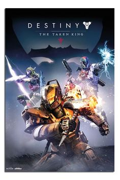 Destiny The Taken King Poster | iPosters
