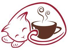 Image result for cat coffee
