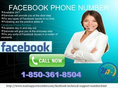 Of course, our Facebook Phone Number 1-850-361-8504 works 24 hours and 365 days only to give you a satisfying solution for your Facebook related issues. Our techies who will receive your call work throughout the day and night. So, what are you waiting for? Why don't you dial our number? http://www.mailsupportnumber.com/facebook-technical-support-number.html