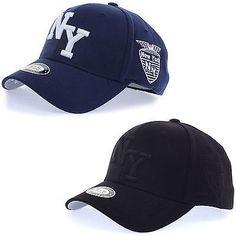 f3047344ce2 Unisex Mens Women New York NY Logo Flexfit Baseball Cap Stretch Fit Trucker  Hats Supernatural Style