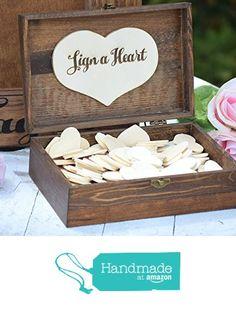 Heart Holder for Guest Book - Heart Drop Guest Book Alternative Box - Heart Box - Wedding Box - Wedding Card Holder - Rustic Weddings from Country Barn Babe https://www.amazon.com/dp/B01LDP1AZ4/ref=hnd_sw_r_pi_dp_1zV2yb70GKKJ6 #handmadeatamazon
