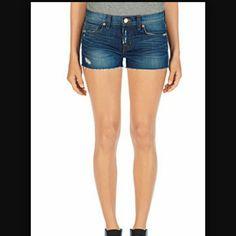 J brand cut off denim short Nice pair of cutting off denim shorts. J Brand Jeans