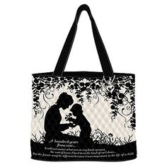 In The Life Of A Child Quilted Tote Bag With Cosmetic Case