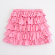 Factory girls' layered ruffle skirt Love this in the green color