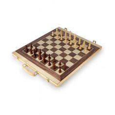 Small Foot Kufrík na šach a backgammon Backgammon, Table, Board Games, Chess, Tables, Desk, Tabletop, Desks
