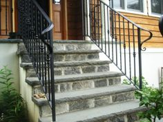 62 Best Stone Veneer Stairs Images Balcony Front Porch
