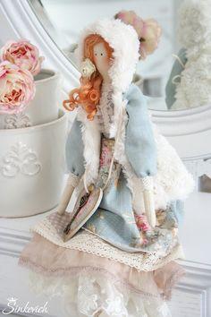 Куклы Тильды ручной работы. Ярмарка Мастеров - ручная работа Девчата ))), работа выполнена на заказ. Handmade.