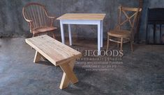 We design & produce chair and table made of #TeakWood #mahoganywood handmade by skilled craftsman in Jepara, Indonesia. We produce & supply furniture available at wholesale price on www.jeparagoods.com  #chairtable #TeakFurniture #teakchair #teakbench #teaktable #jeparagoods #jeparafurniture #indonesiafurniture