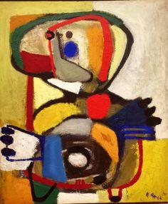 Karel Appel, Child IV on ArtStack #karel-appel #art