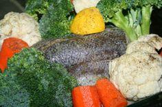 Godt og Sunt: Torsk og Grønnsaker stekt i ovn